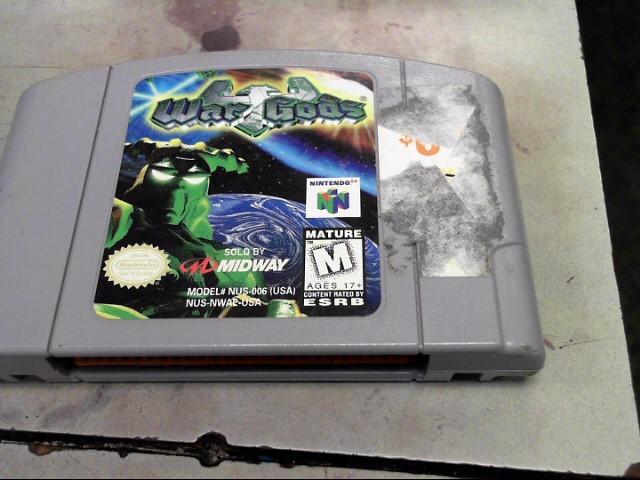 NINTENDO Nintendo 64 WAR GODS
