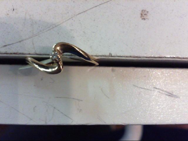 Lady's Diamond Fashion Ring .005 CT. 10K Yellow Gold 1.1g