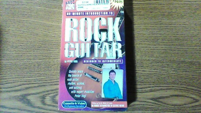WATCH & LEARN VHS INTRO TO ROCK GUITAR