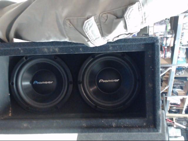 """Pioneer Car Speakers/Speaker System 10"""""""