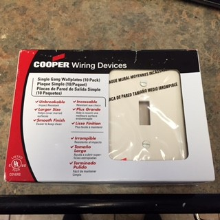 COOPER WIRING DEVICES Miscellaneous Appliances PJ1A-CP