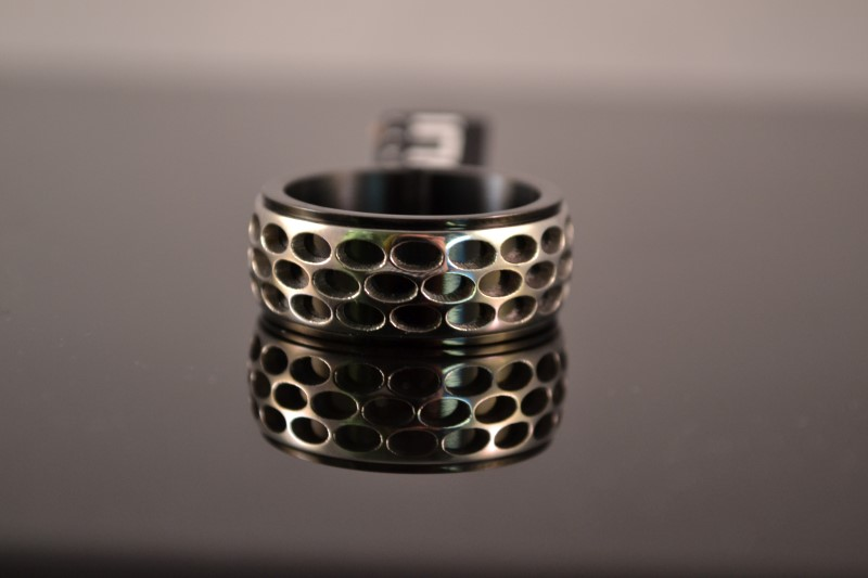 Gent's Ring Silver Stainless 10g