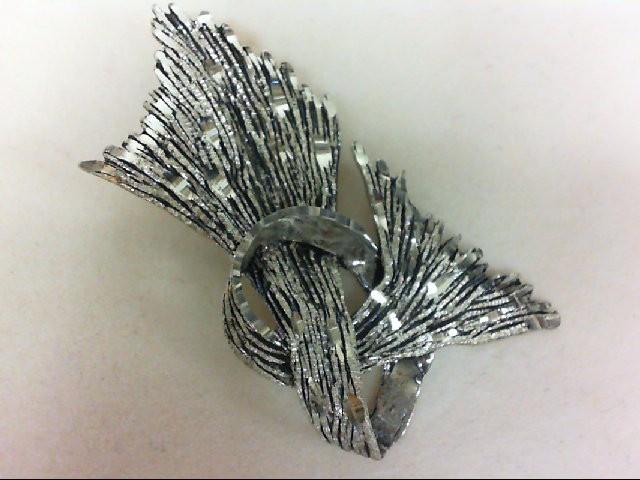 Silver Brooch 925 Silver 10.2g