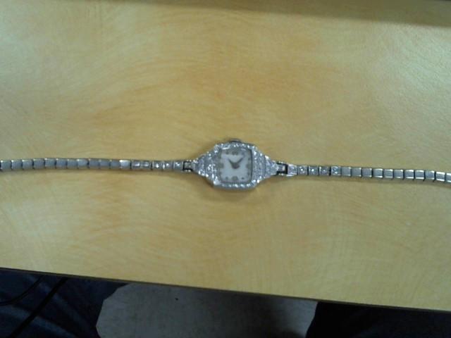 Gold-Diamond Misc. 53 Diamonds .53 Carat T.W. 14K White Gold 14.8g
