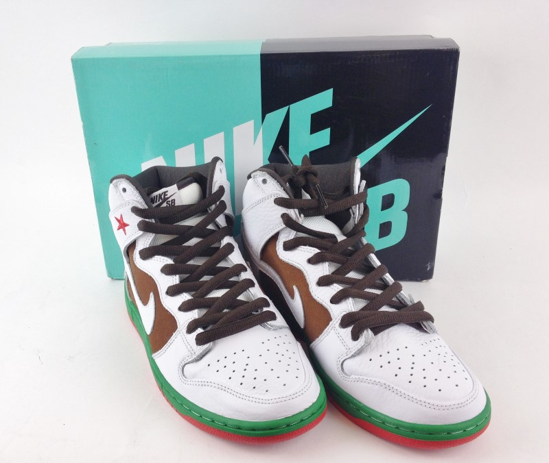 "Nike Dunk High SB ""Cali"" SZ 9"