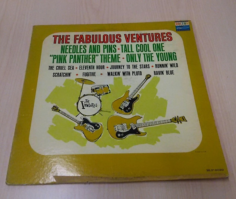 The Fabulous Ventures BLP-2029 Vinyl Record