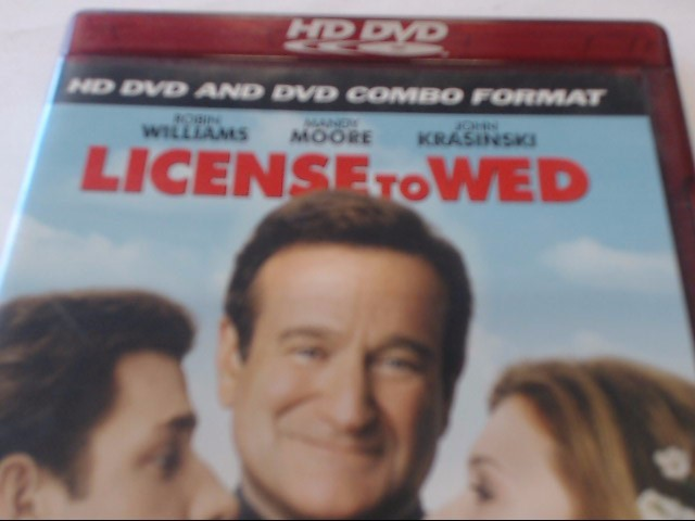 LICENSE TO WED - HD DVD MOVIE