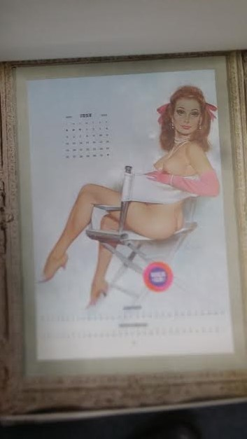 1970 HAROLDS CLUB NUDIE CALENDAR