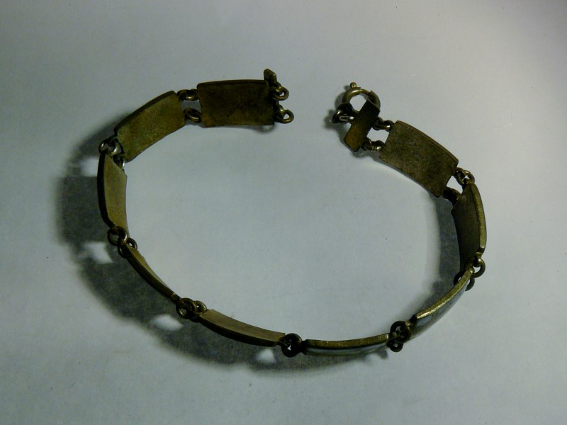 Silver Bracelet Silver Plate 13dwt