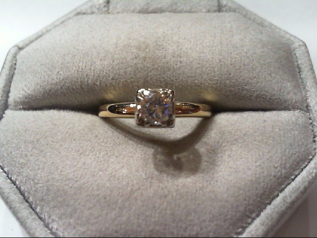 Lady's Diamond Engagement Ring .40 CT. 14K Yellow Gold 2.6g