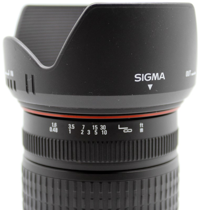SIGMA LENS 28-200MM 1:3.5-5.6 MACRO FOR SA/PENTAX