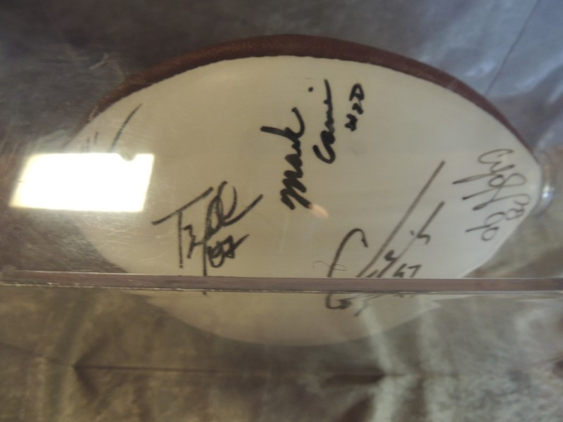 Chicago Bears Autographed Football Signed by 13 Players