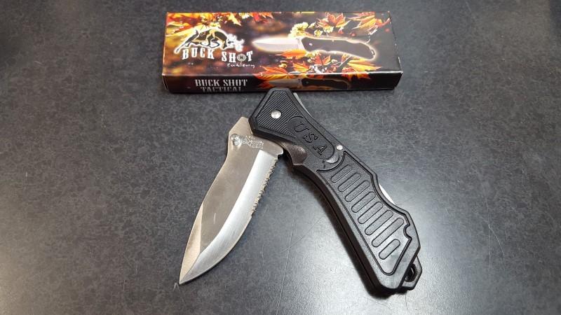 FROST CUTLERY Pocket Knife BUCK SHOT CUTLERY