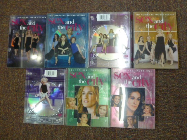SEX & THE CITY - SEASONS 1 - 6 PT2 *Complete* DVD