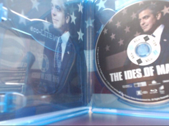 THE IDES OF MARCH, ACTION BLU-RAY MOVIE, GOOD CONDITION