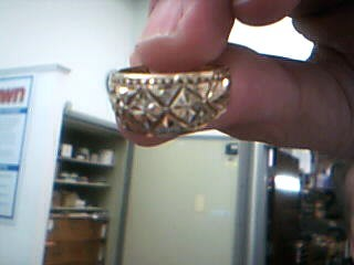 Lady's Gold Ring 10K Yellow Gold 3.9g