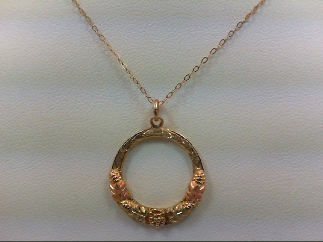 Gold Pendant 10K Yellow Gold 2.5g