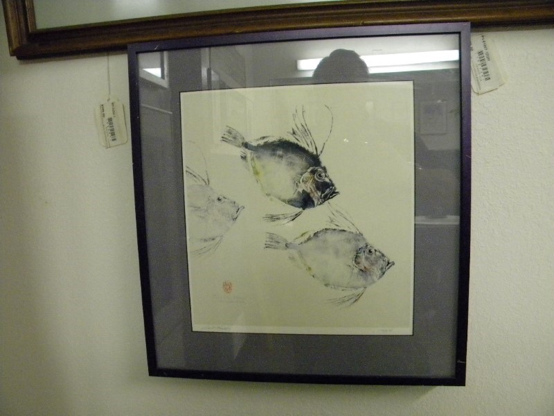 THREE PIRANAH LITHINOGRAPH  BY LORI HATCH KING, SIGNED AND # 178/650