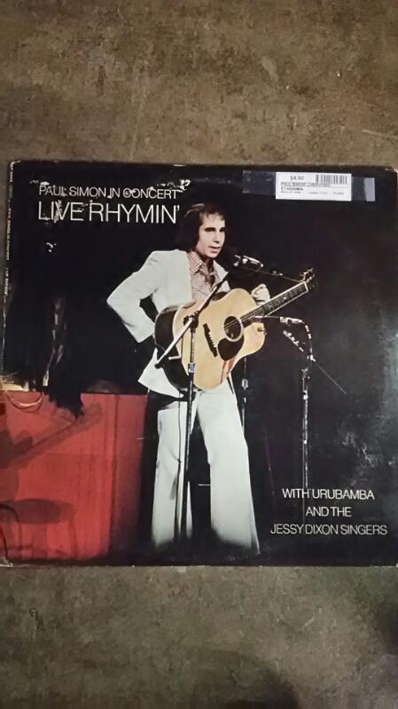 Paul Simon Liverhymin Vinyl