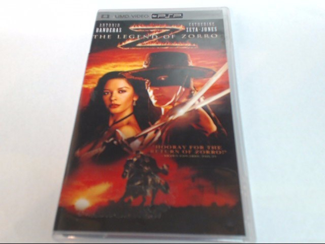 THE LEGEND OF ZORRO UMD FOR PSP