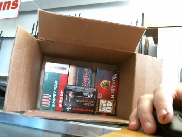 NONE Ammunition MISC BOXES AMMO