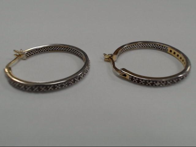 White Stone Silver-Stone Earrings 925 Silver 4.94g
