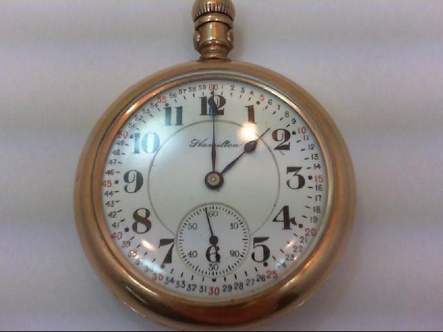 HAMILTON Pocket Watch VINTAGE POCKET WATCH