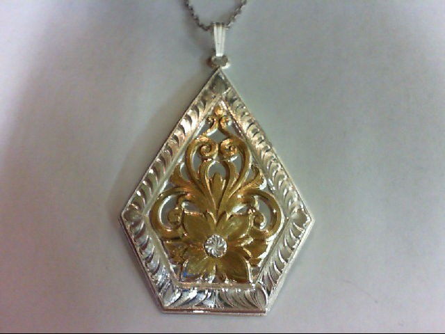 Necklace/Pendant Silver Stainless 10.9g