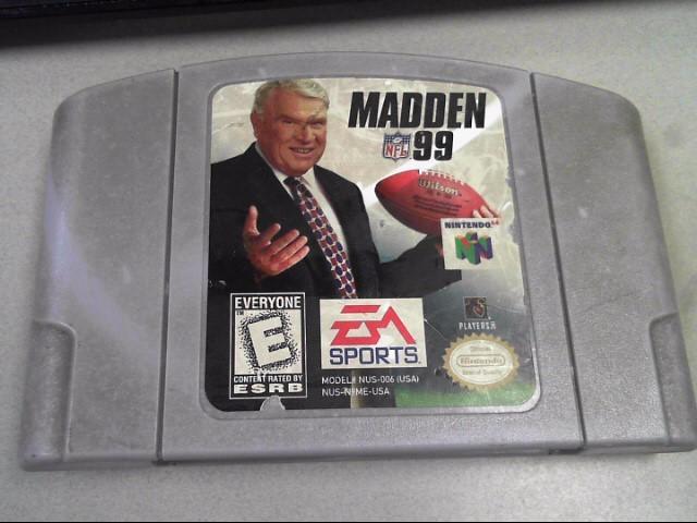 NINTENDO Nintendo 64 64 MADDEN 99