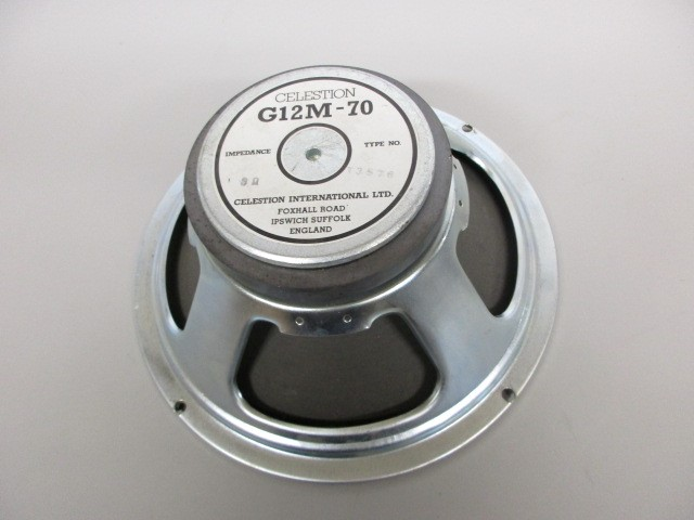 CELESTION G12M-70 - 8 OHM, NEEDS TO BE RECONED