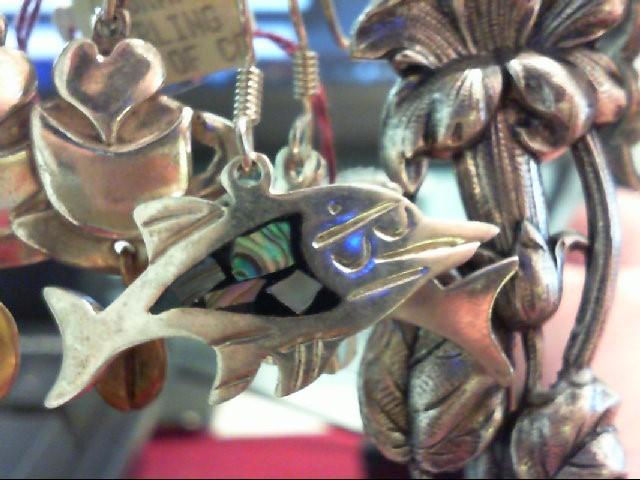 Silver Earrings 925 Silver 9.8g