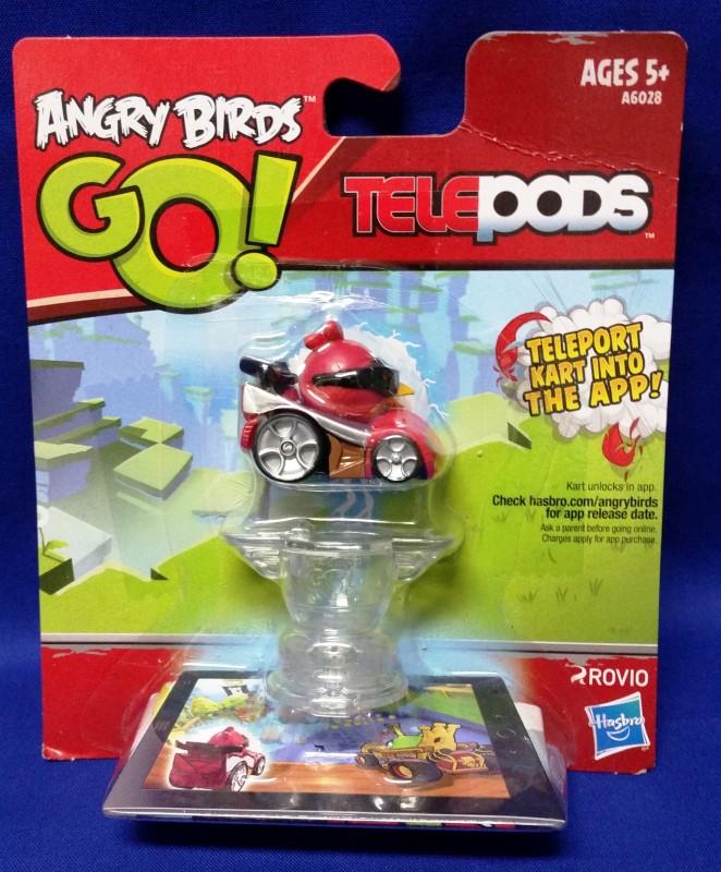 HASBRO Miscellaneous Toy ANGRY BIRDS GO! TELEPODS RED BIRD