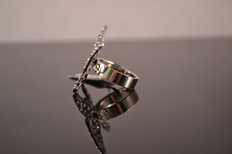 Lady's Ring Silver Stainless 7.5g