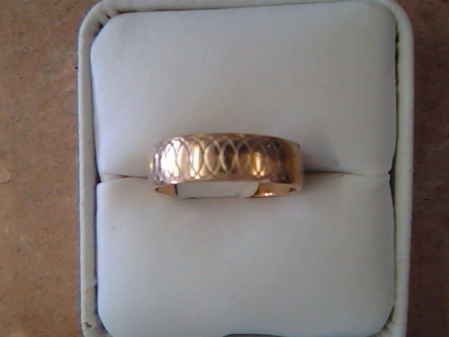 BAND RING JEWELRY , 14KT, 4.60 G