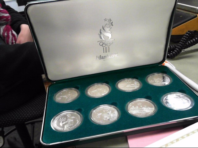 UNITED STATES Silver Coin OLYMPIC COINS