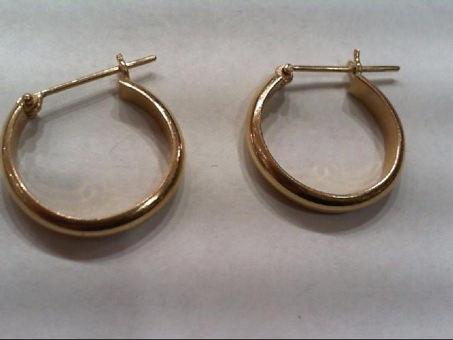 Gold Earrings 14K Yellow Gold 4.5g