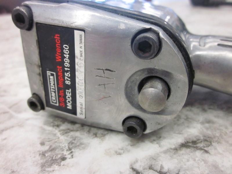 Craftsman Air Impact Wrench 875 199460 Good Buya