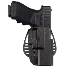 UNCLE MIKES Accessories 5425-2 LEFT HAND OPEN TOP KYDEX HOLSTER