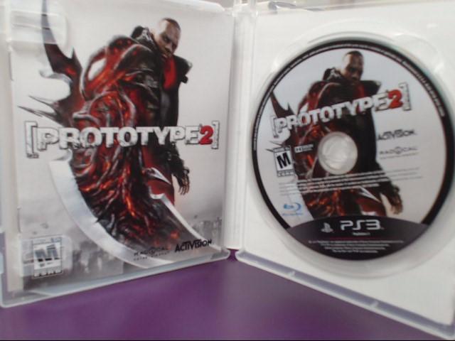 Prototype 2 (Sony PS3 Playstation 3, 2012)