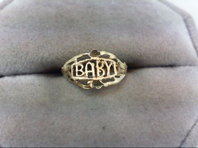Child's Gold Ring 10K Yellow Gold 1g