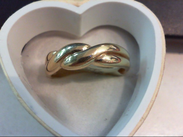 Gent's Gold Ring 14K Yellow Gold 5g Size:10.5