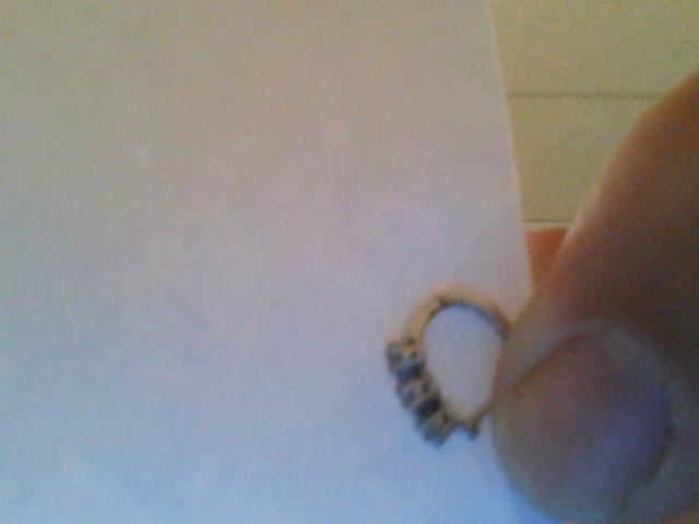 Gold-Diamond Earrings 42 Diamonds .42 Carat T.W. 14K White Gold 0.8dwt