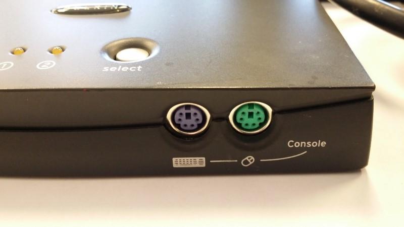 BELKIN Computer Accessories OMNI VIEW 2 PORT KVM SWITCH