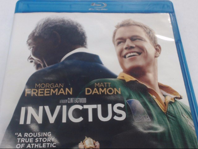 INVICTUS - BLU-RAY MOVIE