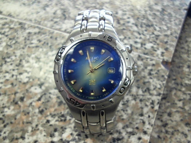 RELIC MENS SS BLUE WATCH S/ZR11620 M/340209