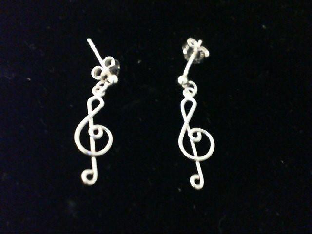 Silver Earrings 925 Silver 0.9g