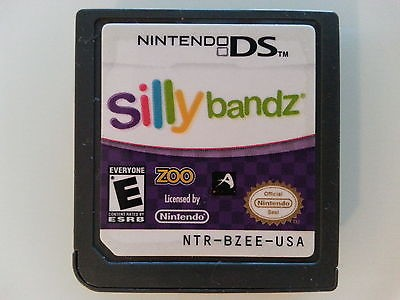 NINTENDO Nintendo DS Game SILLY BANDZ DS