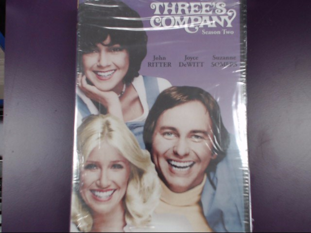 THREE'S COMPANY SEASON ONE AND TWO DVD SET