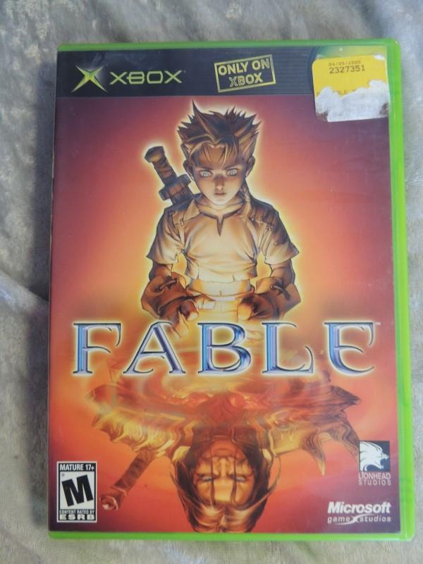 MICROSOFT XBOX GAME - FABLE