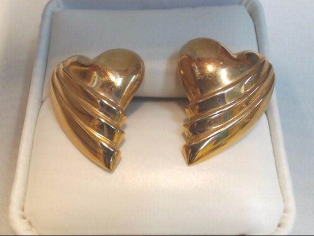 Gold Earrings 14K Yellow Gold 3.1g